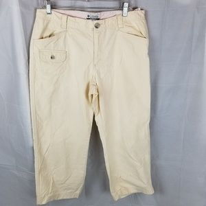 Columbia cotton capri pant